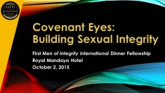 1st MI2 Dinner - Building Sexual Integrity