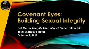 1st MI2 Dinner - Building Sexual Integrity